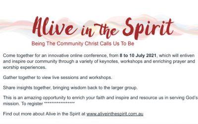 Alive in the Spirit Promotion Slide