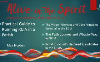 Practical Guide to running RCIA in a parish